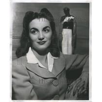 1941 Press Photo Hope Elise Ross Lange American Stage