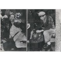 1946 Press Photo Film Strike MGM Hollywood, California