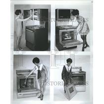 1970 Press Photo Electric Stoves