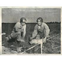 1950 Press Photo National Guard Engineers Explosive Edu - RRR24893
