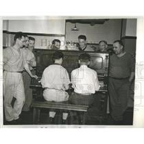 1938 Press Photo 29 Men Alimony Row Cook County Jail