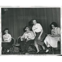 1951 Press Photo Spelling Bee Philip John Badarak
