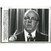 Press Photo Treasury Secretary George Shultz