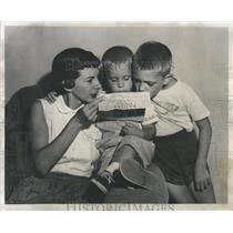 1953 Press Photo Mrs Robert Wilkins Detroit PW