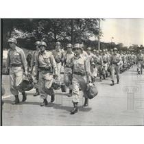 1953 Press Photo Illinois National Guard Field Training