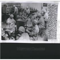 1957 Press Photo Rocket Industry Illinois