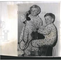 1956 Press Photo Cobalt Kids are Okay