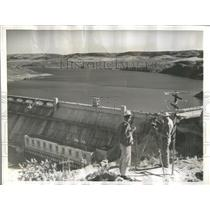 1941 Press Photo Grand Coulee Power Flows