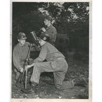 1951 Press Photo Vincent Pacific Sam Reds Training Camp - RRR57153
