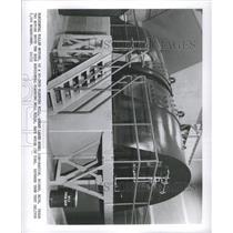 1953 Press Photo Horizontal Motor Powering Slabbing