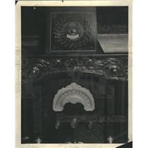 1930 Press Photo Lyric Deep clock Self Tuner Board - RRR58471