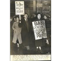 1937 Press Photo Countess Haugwitz Von Reventlow renoun