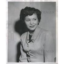 1952 Press Photo Indian Princess Lena Williams Michigan - RRR72685