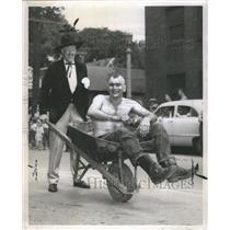 1952 Press Photo The Des Planes Red Atkins Harold Helfo - RRR76511