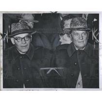 1957 Press Photo Wladislaw Gomllka, Polish Communist Pa