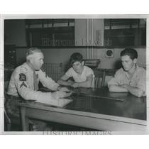 1947 Press Photo Richard Gorman Murder Charge