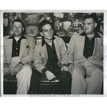 1952 Press Photo Sgt Jack Wooley Michael J.Gisondi