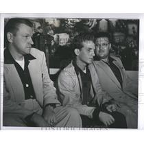 1952 Press Photo Sgt Jack Wooley Michael J. Gisondi