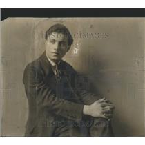 1919 Press Photo Max Rosen Henrry P M Hoiday Coat Famou - RRR82537