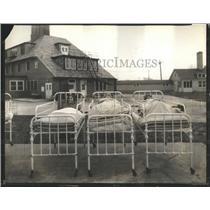 1929 Press Photo Hospitals