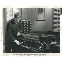 Wally Rairden Fingerprint Sorting Machine