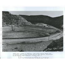 1985 Press Photo Copper Mines
