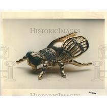 1993 Press Photo Vogue Bijoux's opulent fly