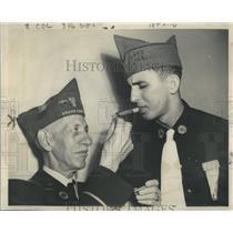 1946 Press Photo William M.MacSmith Anthony War Light - RRR96987