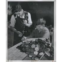 1947 Press Photo Joseph Sugameli Archie Permentie 19yrs