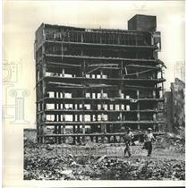 1960 Press Photo Wrecking Company Building  Marshfield