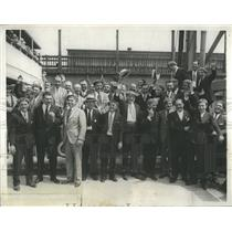 1930 Press Photo WWI Rainbow Division Goes Back 2 Franc - RRR17579
