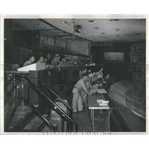 1959 Press Photo North American Air Defense Command Ctr