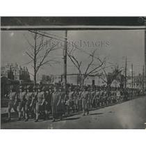 1916 Press Photo G, Harvard Battalion Company Military - RRR27089