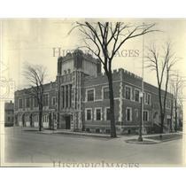 1929 Press Photo Kaukakee City hall