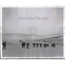 1956 Press Photo Europe Arctic Atlantic Ocean Norway
