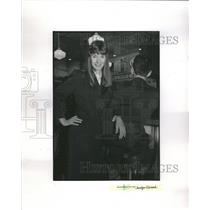 1989 Press Photo WWII Reenactment Society 40s Party