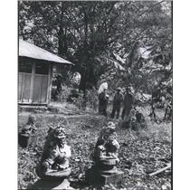1967 Press Photo AID Project Community Center Vietnam