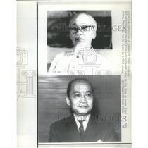 1969 Press Photo Diplomat  Pham Dang Lam