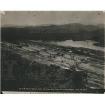 1912 Press Photo Panama Canal Pedro Miguel locks - RRR88075