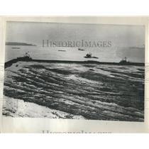 1932 Press Photo Livingston Channel