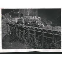 1959 Press Photo Evanston Model Railroad Club