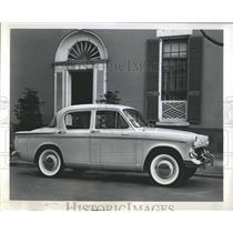 1960 Press Photo Hillman Motor Car Company