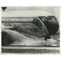 1971 Press Photo NASA Airplane Safety Test