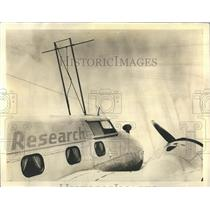 1940 Press Photo Flying guinea - RRR22421