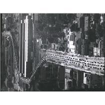 1964 Press Photo Rush hour traffic on Highway 25