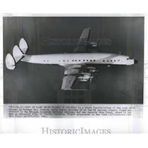1960 Press Photo Super Constellation Plane Avianca - RRR32521