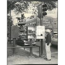 1957 Press Photo William Marsh Electric Matic Control