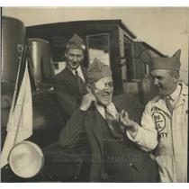 1933 Press Photo W.M Lawson (left) of Rock Island and R - RRR95489