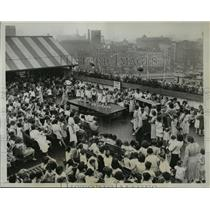 1934 Press Photo New York View of the Baby Beauty Contest NYC - neny05074