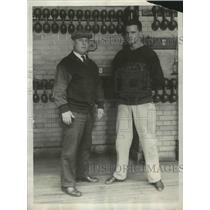 1930 Press Photo Navy Academy boxing coaches Spike Webb, George Moffett